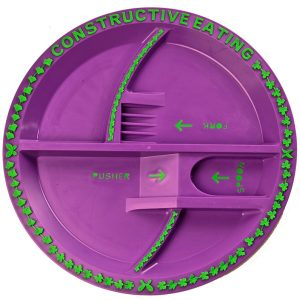 Garden Fairy Plate