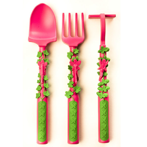 Constructive Eating Kids Cutlery - Fairy garden set
