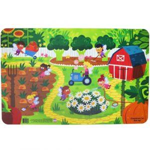 garden fairy platemat