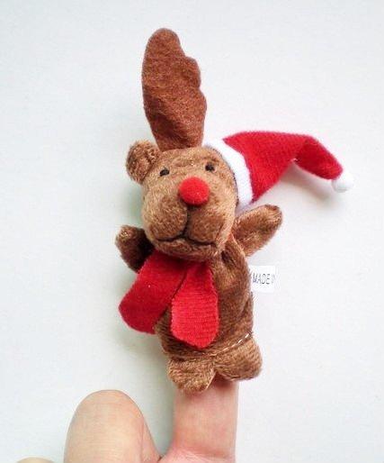 christmas finger puppet - reindeer