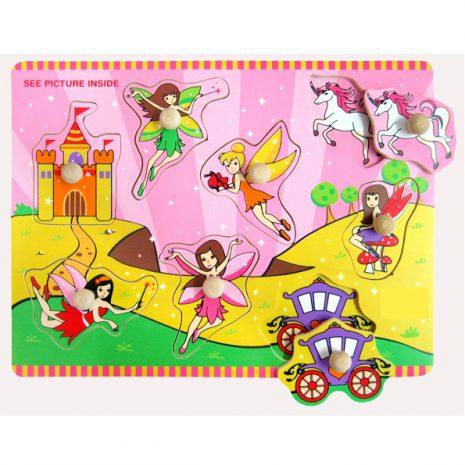 Fairy Wooden Knob Puzzle