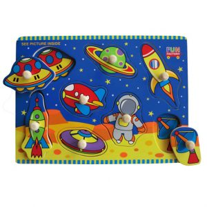Space - Wooden Puzzles for kids