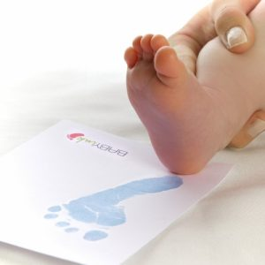 Baby ink inkless printing kits
