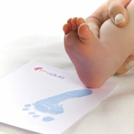 Baby ink inkless printing kitsin Blue