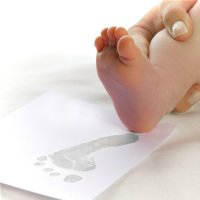 Soft Grey - Baby Ink Inkless Printing Kits