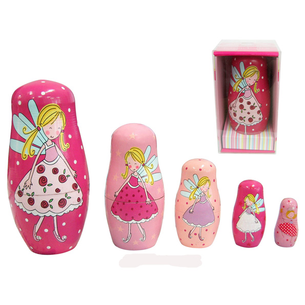 Fairy Nesting Dolls - wooden toys for kids