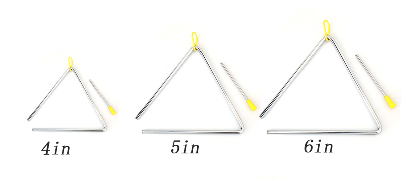 musical triangle – different sizesx3