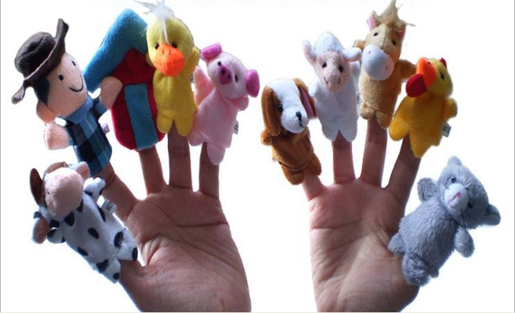 Finger puppet - old macdonald