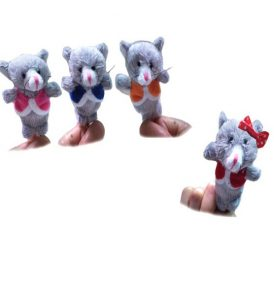 three little kittens finger puppets