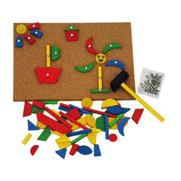 Hammer And Tap Nails 100pc on 10 Diy Musical Instruments For Kids