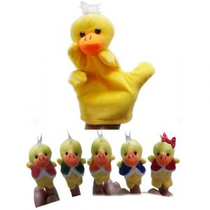 Five Little Ducks Puppets