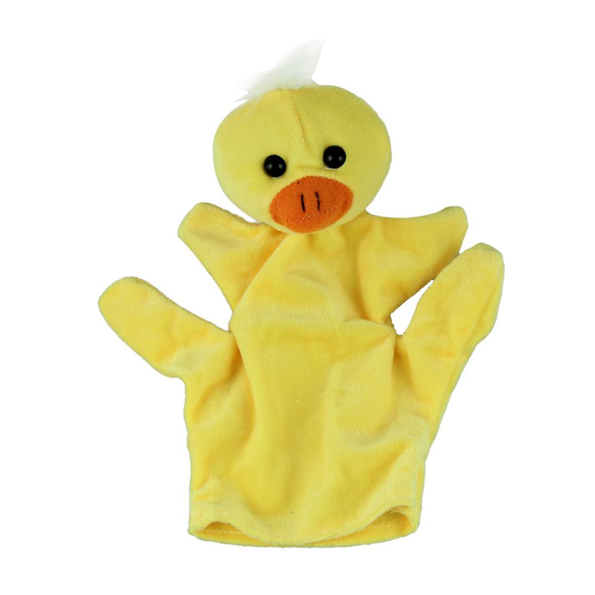 Duck hand puppets