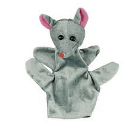 Mouse hand puppets