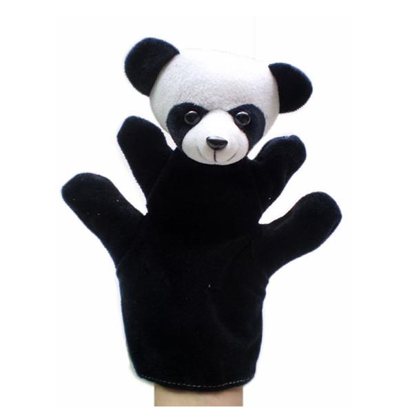 Panda hand puppets