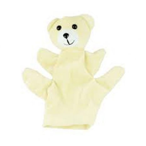 Polar Bear hand puppets