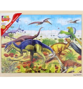 Large Wooden Dinosaur Jigsaw