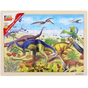 Large Wooden Dinosaur Jigsaw