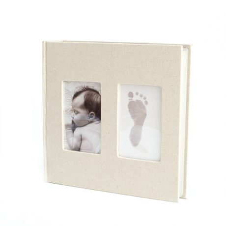 Baby Ink – Cream Linen Album upright