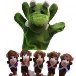 Five Little Monkeys & Mr Crocodile Puppets