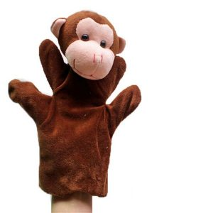 monkey hand puppets