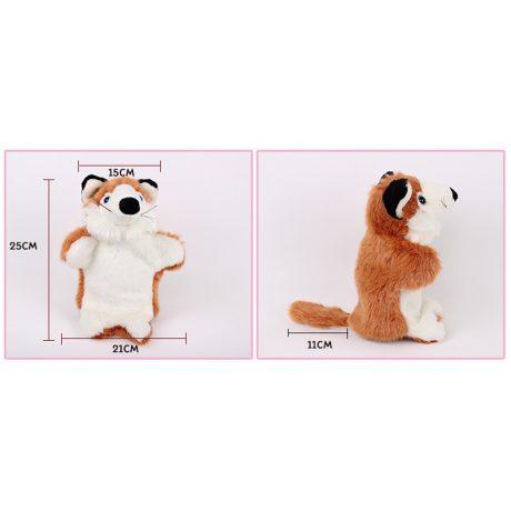 Fox Hand Puppet – measurement