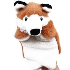 Brown Fox Hand Puppets