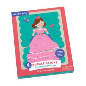 Wooden Enchanting Princess Puzzle Sticks