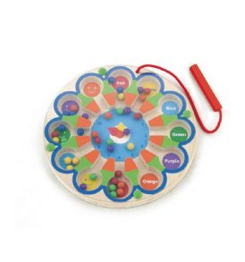 Magnetic Bead Trace Clock