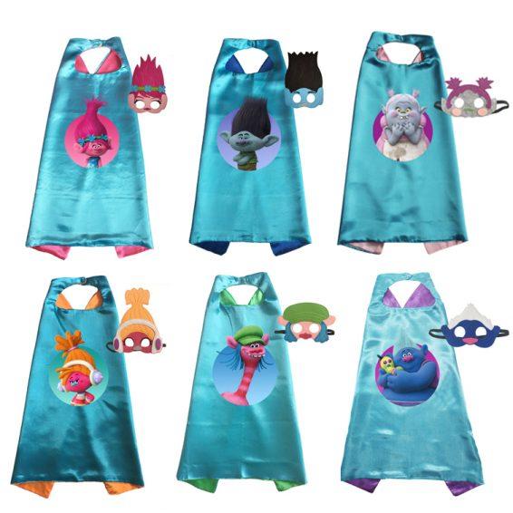 Set of 6 - Trolls Dress Up set