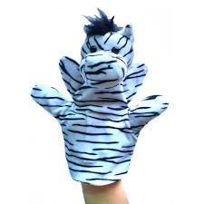 Zebra Hand Puppets