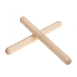 Natural Wooden Rhythm Sticks