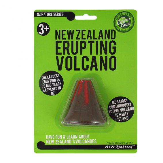 New Zealand Erupting Volcano