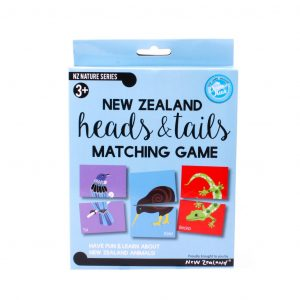 New Zealand Heads and Tails Matching Game