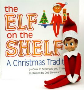 Christmas Elf On The Shelf and Soft Cover Book