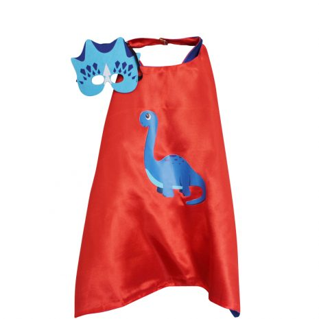 Red Brontosaurus Dress Up set