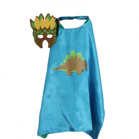 Blue Stegosaurus Dress Up set