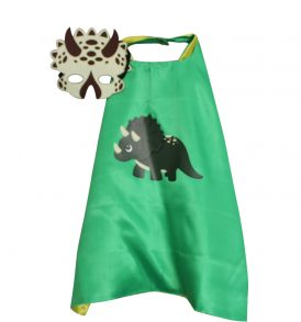 Boy Triceratops Dress Up set