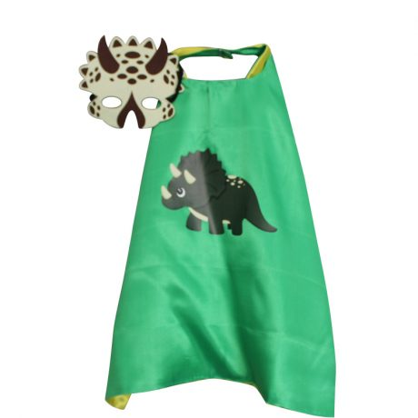 Green Triceratops Dress Up set