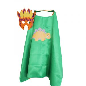 Green Stegosaurus Dress Up set