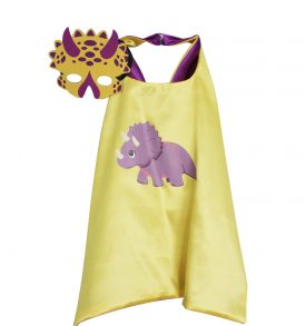 Girl Triceratops Dress Up set