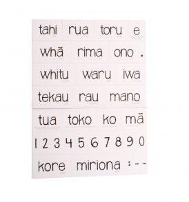 Magnetic Maori Numbers