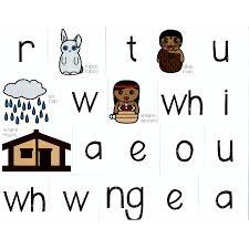 Magnetic Maori Alphabet