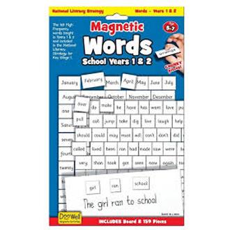 Magnetic Words - School Years 1-2