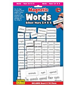 Magnetic Words - School Years 3-5