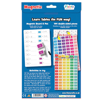magnetic times table reverse a