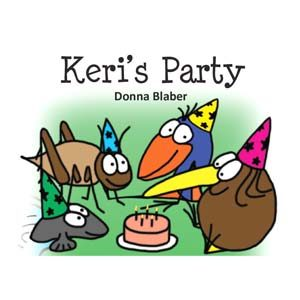 Kiwi Critters Books - Keri's Party