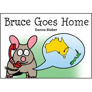 Kiwi Critters Books - Bruce Goes Home