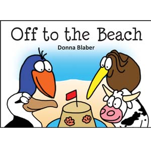 Kiwi Critters Books – off to the beach