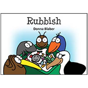 Kiwi Critters Books - Rubbish