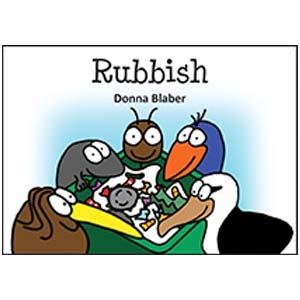 Kiwi Critters Books – rubbish